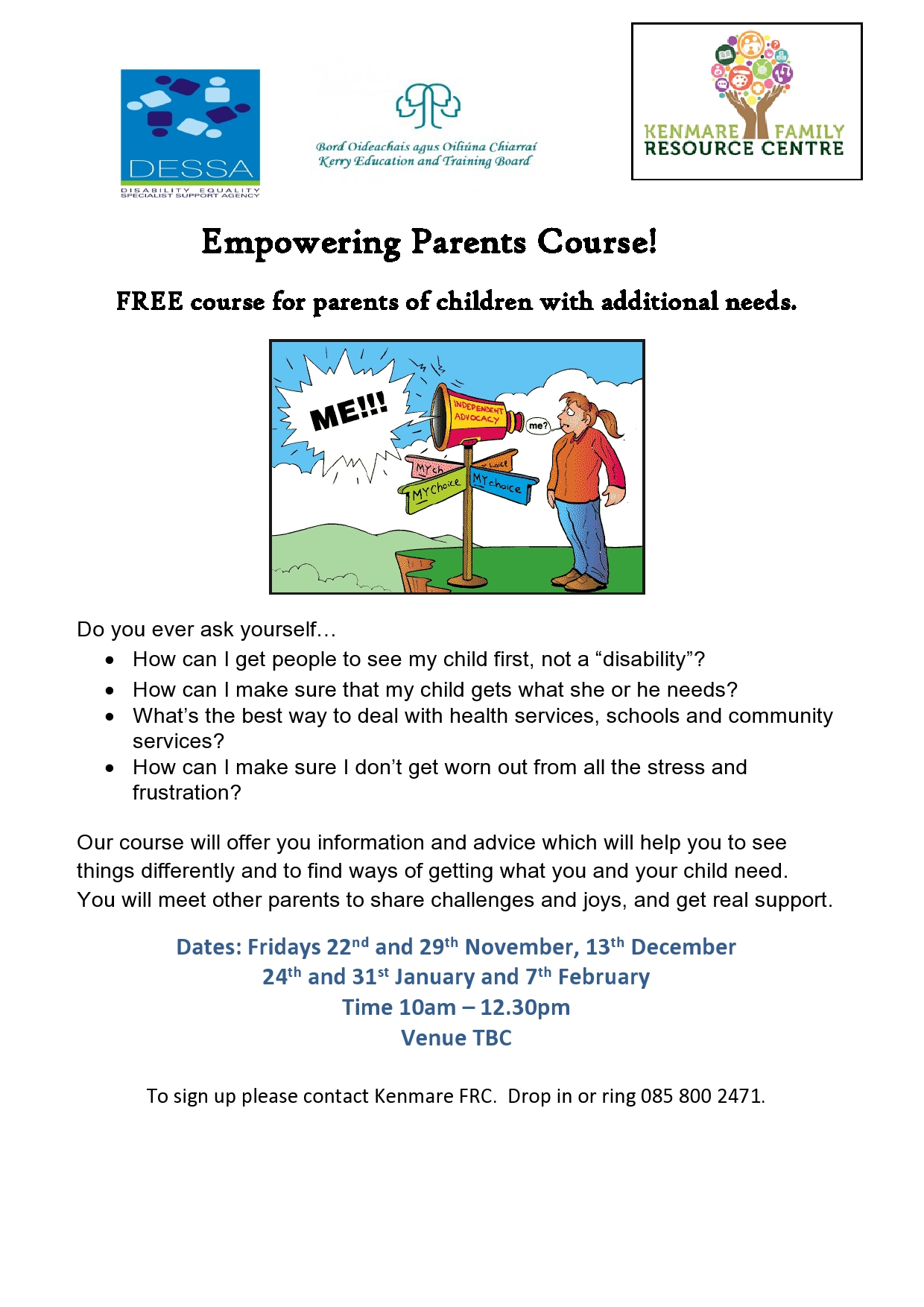Empowering Parents Course Poster page0001